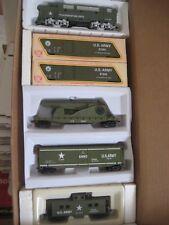 HO  US ARMY TRAIN SET US ARMY MILITARY # BBM-205 F-3 A LOCO W/ ROCKET LAUNCHER
