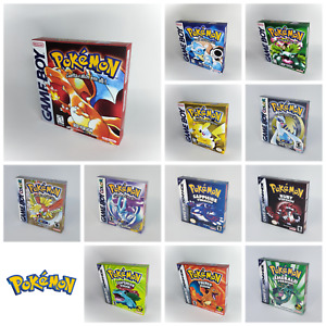 Pokemon Reproduction Replacement Boxes for Game Boy - All versions - Inner Trays