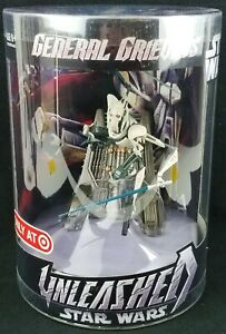 Star Wars Unleashed General Grievous Target Figure 2006 Hasbro 87218/87215 NEW