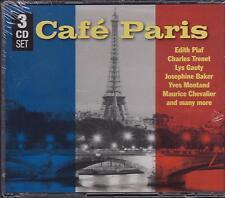 CAFE PARIS - VARIOUS ARTISTS on 3 CD's