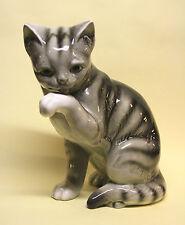 GOEBEL Porzellan Katze Tier Figur Porzellanfigur 27 cm Porcelain Cat Tiere Cats
