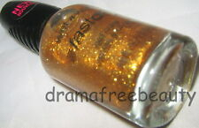 Wet n Wild Fast Dry Nail Polish *GOLD & THE BEAUTIFUL* Gold Glitter Shimmer BNew