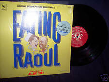 EATING RAOUL 1982 SOUNDTRACK VINYL LP LOS LOBOS - w/SHRINK N MINT! RARE!