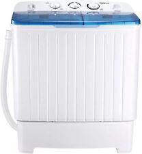 TACKLIFE Portable Compact Two Tub Mini Washing Machine Blue, 3.5kg/17.6lbs with