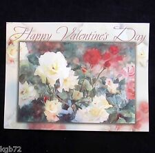 Leanin Tree Valentine Card Valentine's Day Flowers Romance Love V40