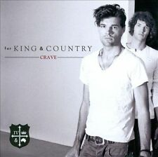 For King & Country Crave Audio CD  Christian Music