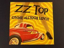 """ZZ TOP~gimme all your lovin WB 1983~R-A-R-E~ UK import 4 track 12"""" 45rpm (LP) Nm"""