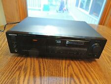 Kenwood KX-7030 3 head stereo cassette player Great working condition