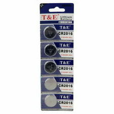 Lithium Button Batteries Watch Calculator Uk New 5 x Cr2016 3V Battery Cell Coin
