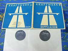 KRAFTWERK ♫ SAME AUTOBAHN DLP ♫ RARE CLEANED ELEKTRO KRAUT ROCK TOP  RECORDS #10