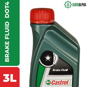 Castrol Brake Fluid DOT 4 - Fluido per Freni Auto 3 Litri
