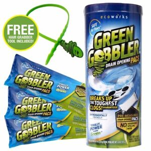 Green Gobbler 8.25 oz. Draining Opening Pacs (3-Count)