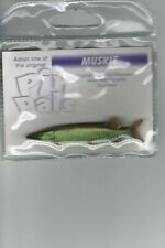 MUSKIE FISH LAPEL PIN