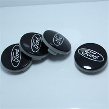 4Pcs FORD BLACK CENTER WHEEL HUB CAPS EMBLEM COVER CAP CP9C-1A096-AA