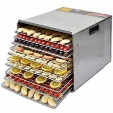 Droogoven voor voedsel met 10 stapelbare lades (Roestvrij staal) dehydrator