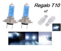 Bombillas H7 Halogenas, luz xenon blanco, 55w y 100w, REGALO de 2 bombillas T10