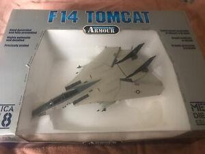 Franklin Mint Armour 1/48 F14 Tomcat Die-cast Model Aircraft