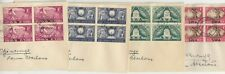 South West Africa KGVI 1947 Covers x 4 Postal History JK1790