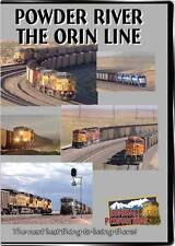 Powder River The Orin Line DVD NEW Highball BNSF Coal Basin UP Union Pacific