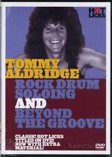 Tommy Aldridge Rock Drum Soloing & Beyond Groove DVD