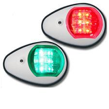 2 x 12V DC LED Navigationslicht Boot Positionsleuchte Lampe für Boote bis 12 m