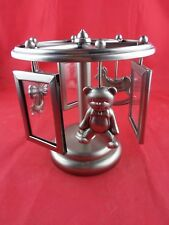 "Baby Picture Frames Charms, Go-Round Wind Up ""Rock A Bye"", Lawrence, Pewter"