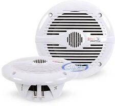 "Boss MR60W 400W 6.5"" 2-Way Marine Boat/UTV/ATV Powersports Coaxial Speakers"