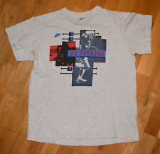 *1990's BO JACKSON* vintage nike air t-shirt NFL MLB (M/L) LA Raiders KC Royals