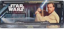 2019 Topps Star Wars Masterwork Hobby Box 4 Packs Factory Sealed - 2 Autographs