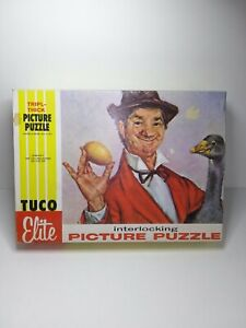 """Tuco Elite Picture 500pc Puzzle """"The Gay Philosopher Set For Life"""" Triple Thick"""