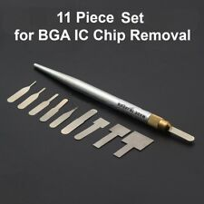 11 Piece BGA Removal Set for eMMC, IC, NAND, BGA Removal