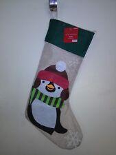 3D Penguin Christmas Stocking
