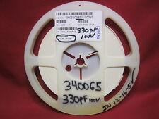 GMC21CG331J100NT Cal-Chip CAP0805 COG 330PF 5% 100V Capacitors Roll of 1250 Plus