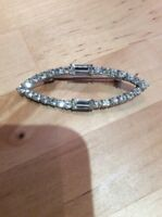 Vintage Diamante Rhinestone BROOCH PIN Gift
