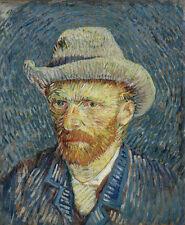 Self-portrait with grey felt hat Vincent van Gogh Maler Künstler Hut B A3 03359