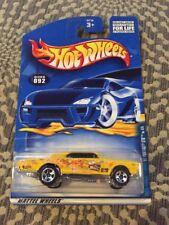 Hot Wheels Hippie Mobile Series FLOWER POWER '67 Pontiac GTO Yellow #092