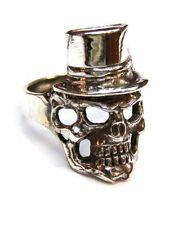 Biker Gothic Punk Skull #861 Sterling Silver 925 Ring Size 5-14