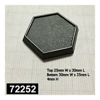 72252: 1 Inch Hex Gaming Base (20)