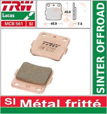 Plaquettes frein Arrière TRW MCB561 SI  Sinter Yamaha YFM 350 R Raptor AH1 04->