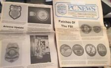 January 2001  PCN Police Collectors News FBI patches