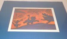 Lion King Cave Painting Art Print Disney Simba Pumbaa Timon Lithograph CoA