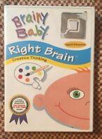 Brainy Baby - Right Brain DVD NEW NEVER OPENED