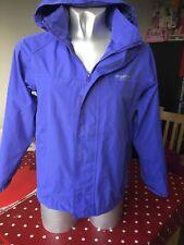 Girls Regatta Purple Raincoat Age 9-10 Years