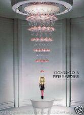 Publicité advertising 2007 Champagne Piper Heidsieck Viktor & Rolf