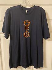 U2 (360 Tour) Shirt. 2 Sided. Ss. Blue. Large. Fast Shipping!