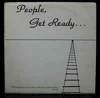 Spiritborne People Get Ready LP VG+ Private Press USA 1980 Xian Soft Rock Pop