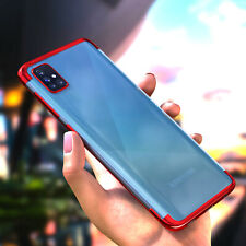 Handy Hülle +6D Schutz Glas Samsung Galaxy A51 A50 A71 A40 A20e A41 Bumper Case