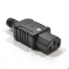 Heavy Duty Rewireable IEC C13 Female Inline Socket Plug 10A 250V [007753]