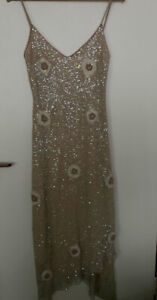 AFTERSHOCK new sequin dress BNWT  Size L (12/14). RRP 269. see description
