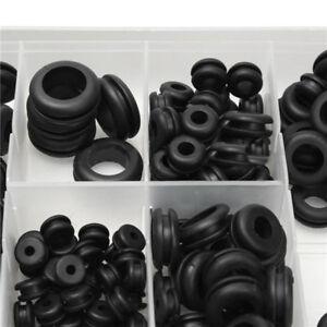 180tlg Sortiment Gummi Durchgangs tüllen Kabeltülle - Kabel Dichtung Gummitülle